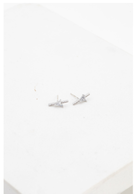 Lover's Tempo Lover's Tempo On Point Climber Earrings Silver