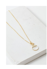 Lover's Tempo Oasis Toggle Necklace in White by Lover's Tempo