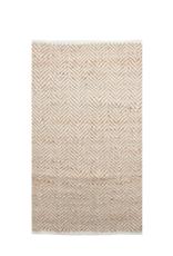 Zigzag Rug  Natural & White