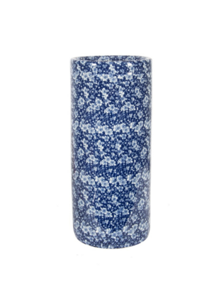 Umbrella Stand  Blue & White
