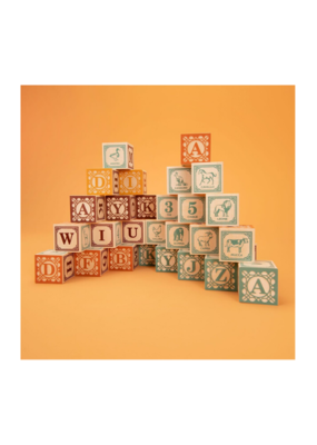 Uncle Goose Italian ABC Blocks