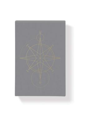 Jewel Compass Large Notepad