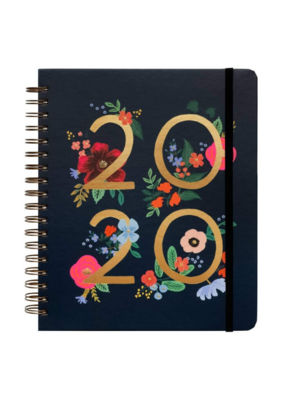Rifle Paper Co. Rifle Paper Co. 2020 Wild Rose Spiral Planner