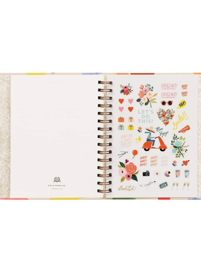 Rifle Paper Co. Rifle Paper Co. 2020 Palette Spiral Planner
