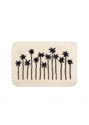 Palm View Crochet Bath Mat