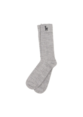 Everyday Alpaca Socks Silver L