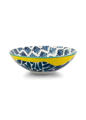 Cobble Yellow Poke Bowl 21cm