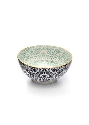 Paisley Blue Bowl 20cm