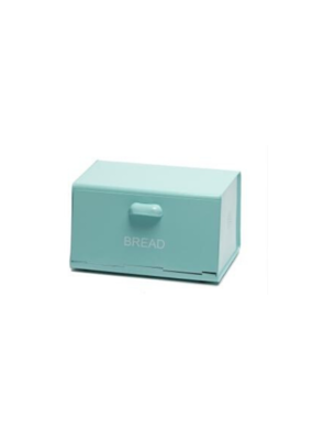Decorsense Enamel Bread Box in Turquoise