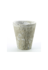 "Hofland Antique White Pot Small 3.75 x 4.5"""