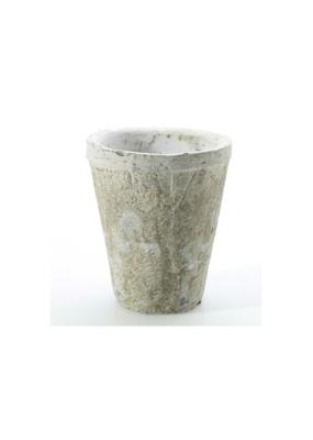 Antique White Pot Small