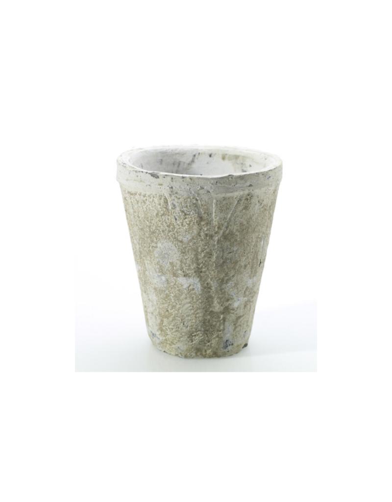 Hofland Antique White Pot Small