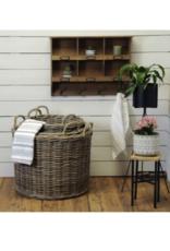 Wide Kubu Grey Basket