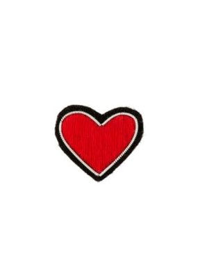Patch Pin Red Heart