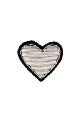Patch Pin Silver Heart