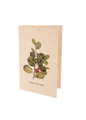 Indaba Card Happy Holly-days