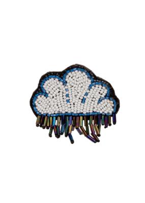 Patch Pin Rain Cloud