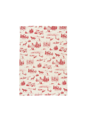 Holiday Toile Teatowel