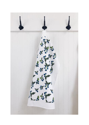 Ten & Co. Ten & Co. Tea Towel Wild Blueberry