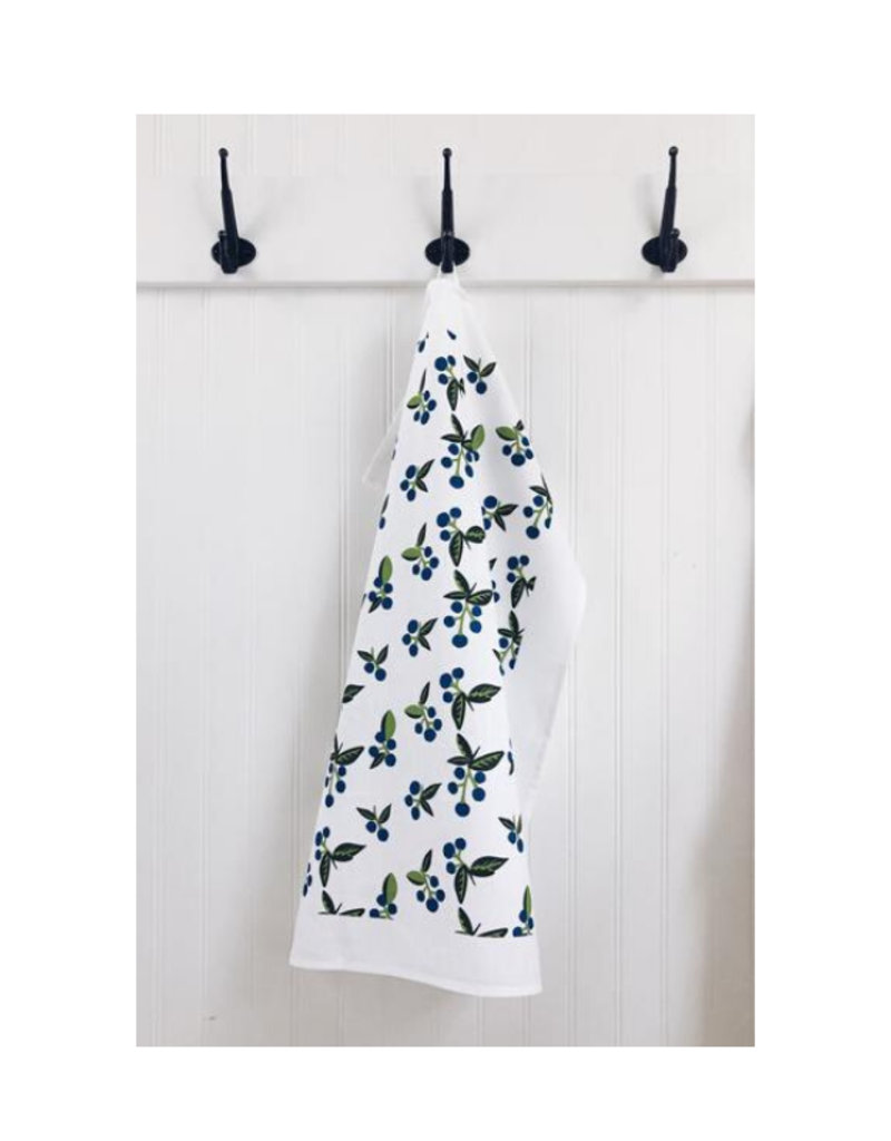 Ten & Co. Ten & Co. Tea Towel Wild Blueberry