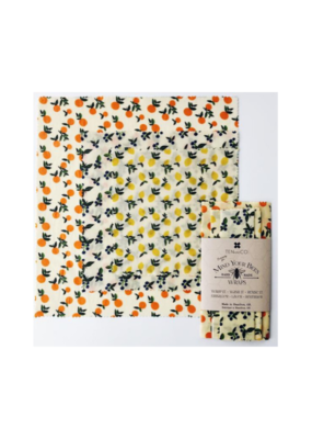 Ten & Co. Ten & Co. Fruit Beeswax Wrap 3 Pack