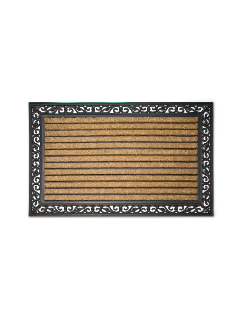 Extra Large Rubber & Coir Grill Doormat