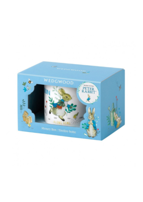 Peter Rabbit Money Box Blue