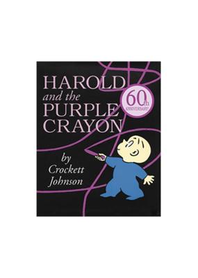 Harper Collins Harold and the Purple Crayon Book