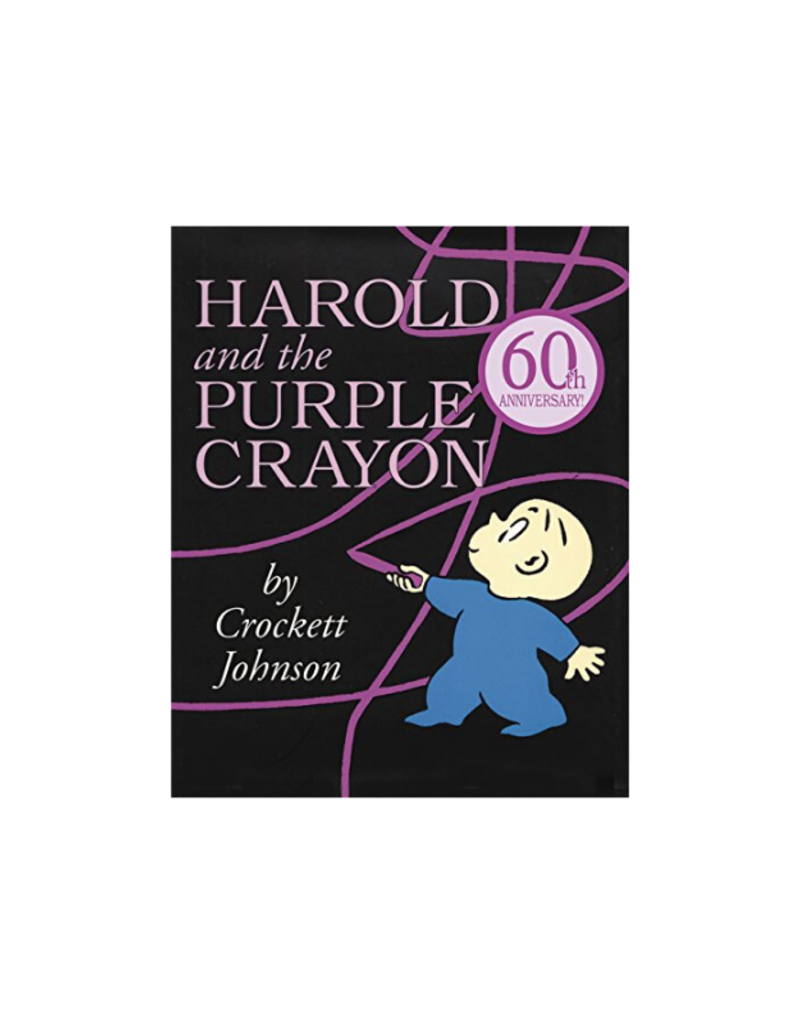 Harper Collins Harold and the Purple Crayon Book