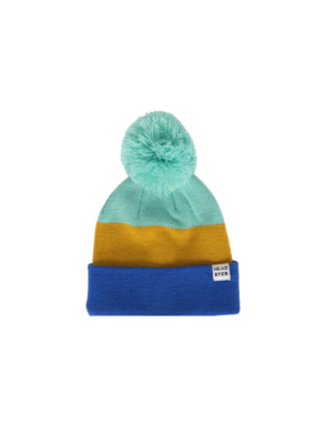 HEADSTER Headster Tricolour Touque Mustard XS/S