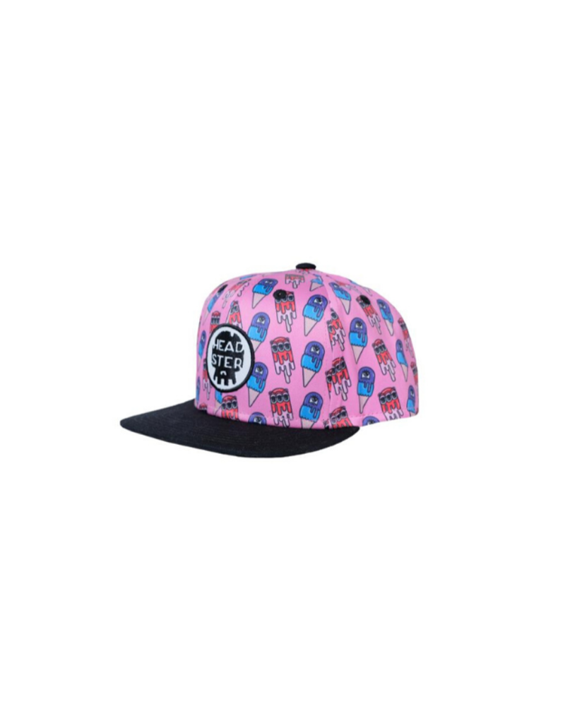 HEADSTER Monster Freeze Pink Hat by Headster Size: Baby