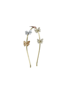 Mimi & Lula Alice Metallic Butterfly Hairband