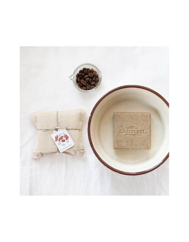 Castelbel Linen Wrapped Coffee Soap