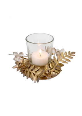Fern And Flower Votive