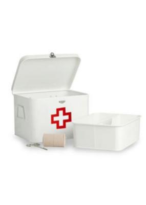 Decorsense Enamel Medicine Box