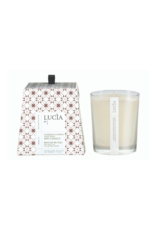 Lucia 50hr Soy Candle Goat Milk & Linseed