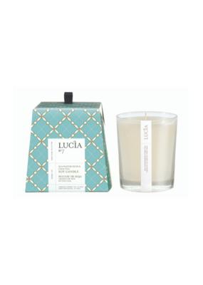 Lucia 50hr Soy Candle Sea Watercress & Chai Tea
