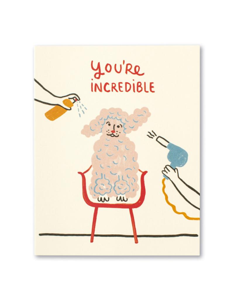 You're Incredible Card