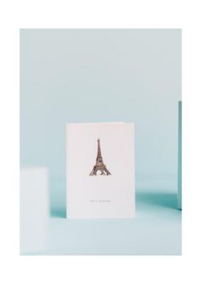 Merci Beaucoup Tour Eiffel Card