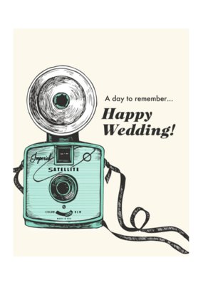 The Good Days Print Co. Wedding Camera Card