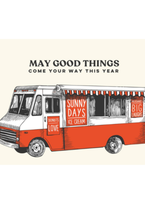 The Good Days Print Co. Good Things Birthday Card