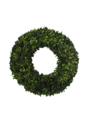 """24"""" Boxwood Round Wreath Extra Large"""