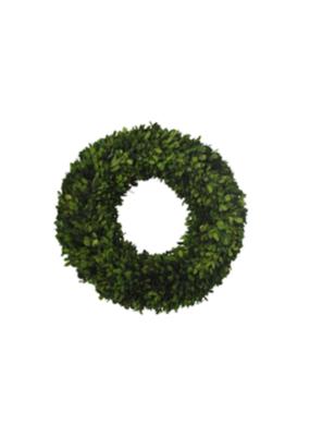 """18"""" Boxwood Wreath Round Large"""