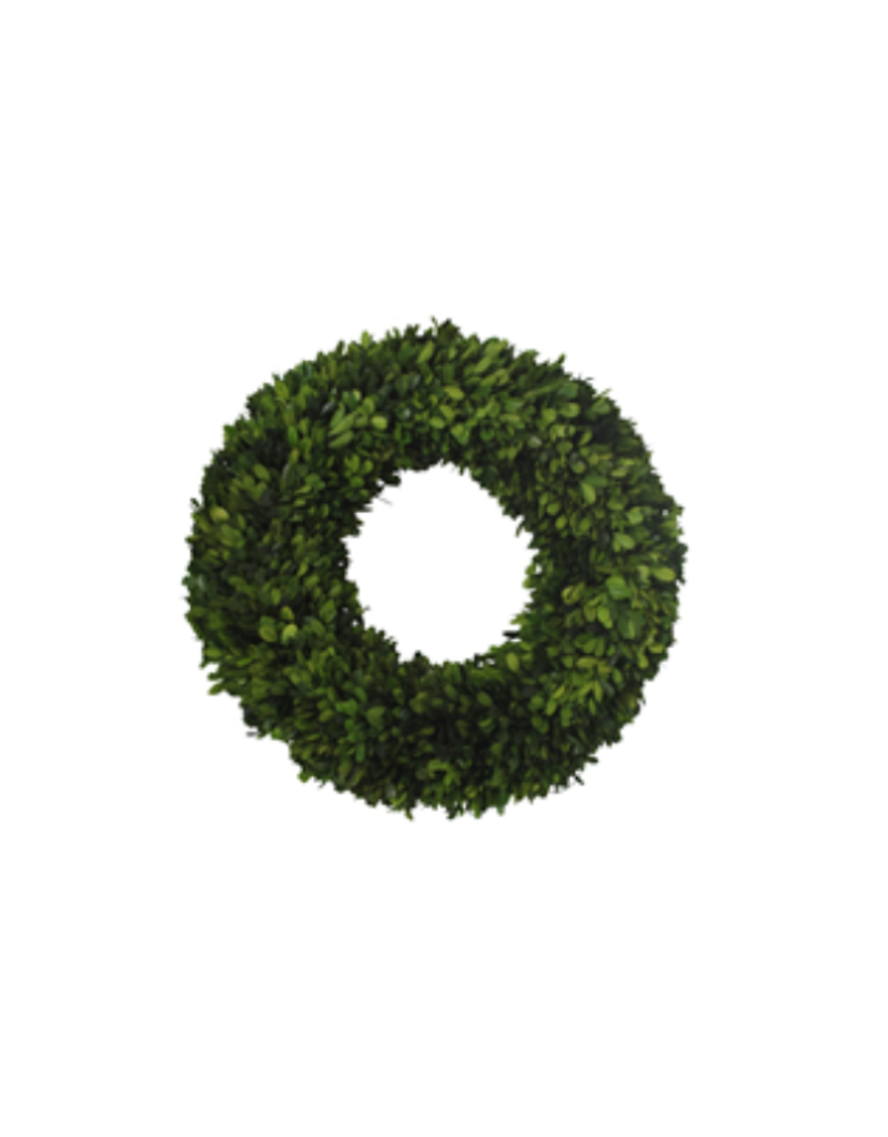 "18"" Boxwood Wreath Round Large"