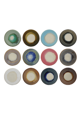 Round Stoneware Trivet Coaster