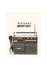 The Good Days Print Co. Birthday Shoutout Card
