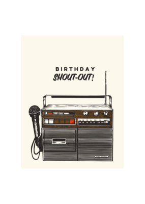The Good Days Print Co. Birthday Shoutout Card