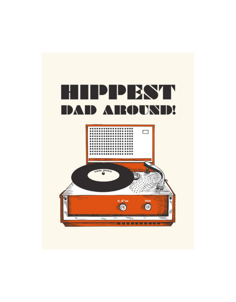 The Good Days Print Co. Hippest Dad Card