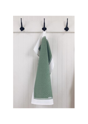 Ten & Co. Ten & Co. Tea Towel Scallop Sage