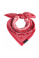 Bandana Cotton Scarf - Red